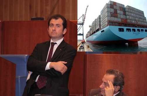 """Giordano(Idv) :""""Trasformare il porto di Gioia Tauro da trashipment a scalo intermodale"""