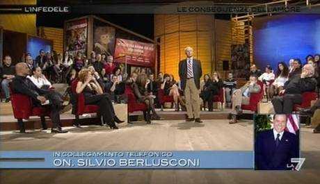 Berlusconi a Lerner: postribolo ripugnante