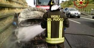 auto incendio statale 280