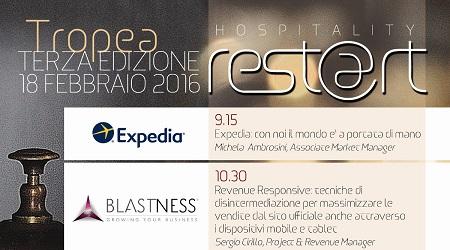 """A Rocca Nettuno di Tropea edizione di """"Hospitality Rest@rt"""" L'evento è finalizzato al rilancio turistico della Costa degli Dei"""