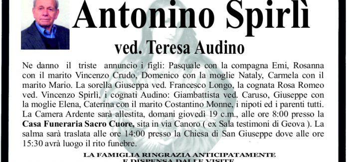 Taurianova E Morto Antonino Spirli Approdo Calabria