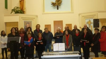 Lamezia, il canto apre il cuore degli anziani La magia del Natale nelle note del Coro Polifonico