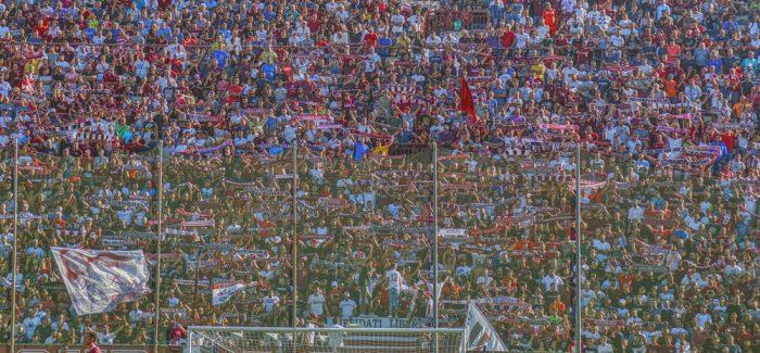 Calcio serie B, una reggina sfortunata perde a Pisa per 2 a 0 Espulso il portiere degli amaranto