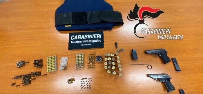 Ndrangheta, mini arsenale scoperto dai Carabinieri a Piscopio (VV)