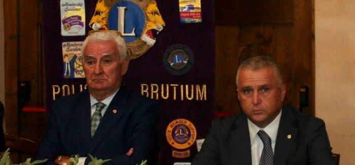 Giuseppe Zampogna alla guida del Lions club Polistena Brutium Per l'anno sociale 2020-2021