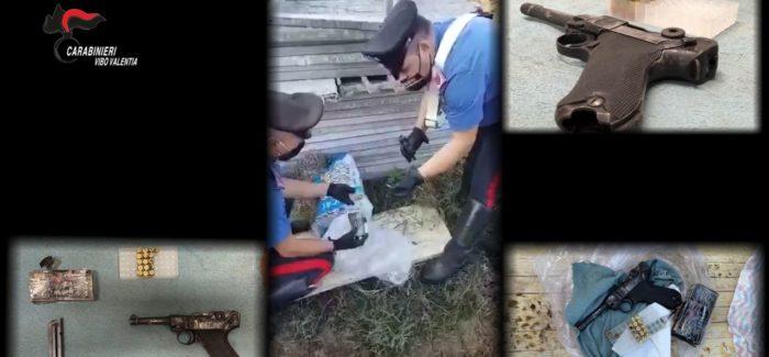 Carabinieri, Zungri, un arresto per detenzione di arma clandestina
