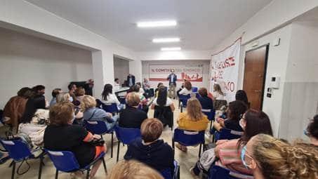 Il sindaco Falcomatà riceve una delegazione degli assistenti educativi delle scuole reggine Una delegazione degli assistenti educativi delle scuole di Reggio Calabria è stata ricevuta questa mattina al Comitato del Sindaco di via Crocefisso