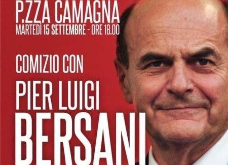 Bersani a Reggio Calabria a sostegno di Giuseppe Falcomatà Martedì 15 Settembre Piazza Camagna