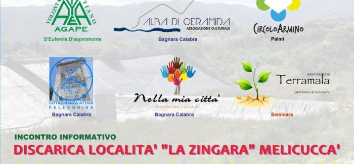 """Circolo Armino Palmi, """"Discarica località la Zingara di Melicuccà: soluzione o problema?"""""""