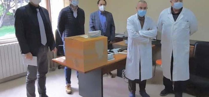 """Polistena, donati 500 tamponi rapidi all'ospedale Il sindaco Marco Policaro, """"per monitorare in tempo reale i contagi durante i ricoveri"""""""