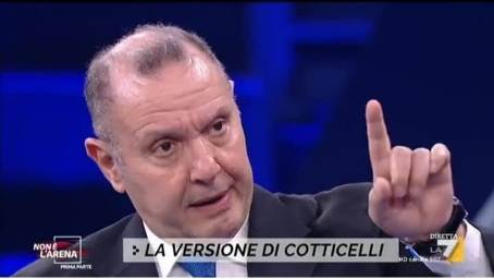 """L'ex commissario Cotticelli da Giletti, dopo la """"tragedia"""" c'è la """"farsa"""" L'ex commissario della sanità calabrese in un disarmante imbarazzo (per i presenti e per noi), fa intendere che forse è stato drogato ed """"ero in uno stato confusionale"""""""