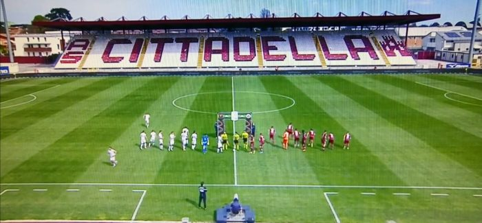 Serie B : Reggina imbattuta contro il Cittadella Dal Penzo al Tombolato. Gli amaranto tornano dalla doppia trasferta veneta con un bottino di quattro punti.