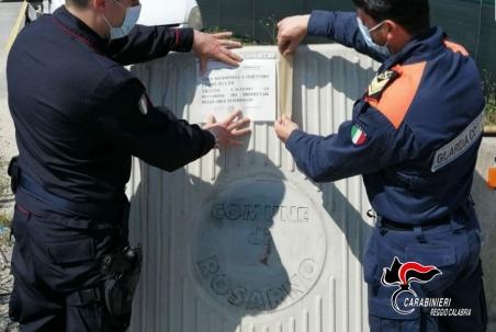 Rosarno, sequestrata vasta area del demanio marittimo Costante l'azione di prevenzione e contrasto ai molti fenomeni criminali, a tutela dell'ambiente, tra i quali lo sversamento illecito di rifiuti