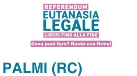 """Referendum """"Eutanasia Legale"""", sabato a Palmi la raccolta delle firme Si terrà in Piazza Primo Maggio l'ultimo tavolo per raccogliere le firme per il referendum promosso dall'Associazione Luca Coscioni"""