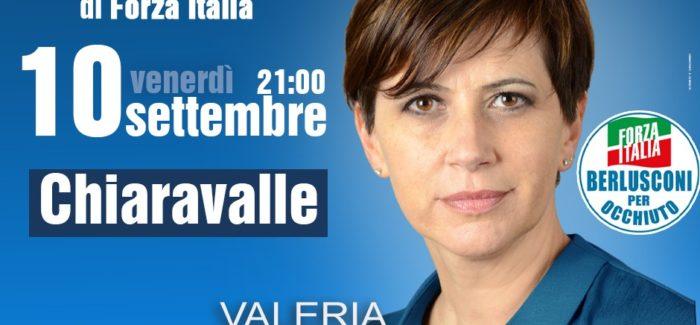 Elezioni regionali, Valeria Fedele incontra gli elettori di Chiaravalle